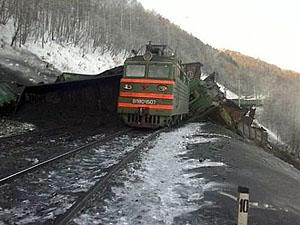 На Луганщині підірваний потяг з вугіллям: залізничне сполучення з «ЛНР» перерване