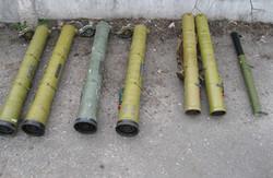 Під Чугуєвом затримали іномарку із запчастинами від гранатометів (фото)