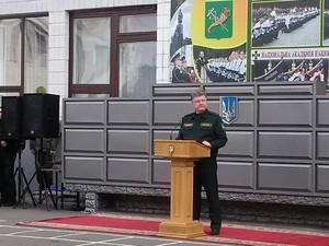 Порошенко виступив перед курсантами Нацгвардії (фото)