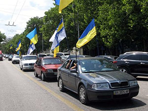 Волонтери Дніпропетровська зберуть гроші для хворих дітей на автопробігу