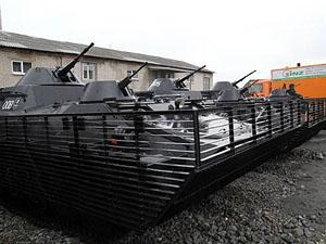 """Дніпропетровський полк """"Дніпро - 1"""" відкрив базу (фото)"""