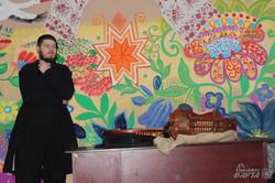 В «Просвіті» пройшла зустріч з кобзарем Назаром Божинським (фото)