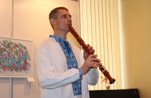 В галереї «мистецтво Слобожанщини» вбувся вечір, присвячений Шрі Чинмою