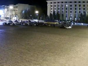 Гонитва із стрільбою і ДТП в центрі Харкова (фото, відео)