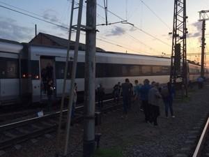 Знову трапилася пригода з поїздом Харків – Київ (Хюндай) (фото)
