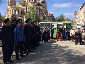 Мітинг і колотнечі в центрі Харкова (фото, відео)