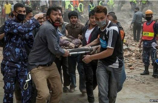 Кількість жертв землетрусу в Непалі зросла