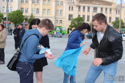 В Харкові пройшла акція «Запали вогник в своєму серці» (фото)
