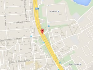 У Харкові  палала маршрутка (фото)