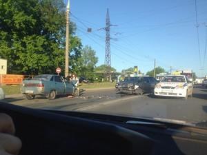 ДТП на Сокольниках: є потерпілі (фото)