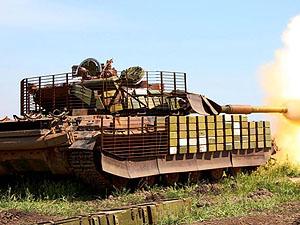 Командування танкового об'єднання «Восток» провело навчання в Дніпропетровській області (фото)