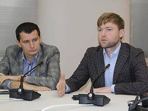 Ярослав Маркевич та Роман Семенуха - новi керівники міської та обласної парторганізації  у харківській «Самопомочі»