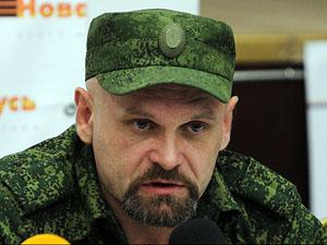 Алчевські бойовики Мозгового прощаються зі своїм убитим керівником (фото)