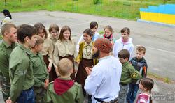 Харківські пластуни на Святу Трійцю «розвідали» новий табір