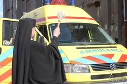 Івано-франківські волонтери передали машину швидкої допомоги (фото)