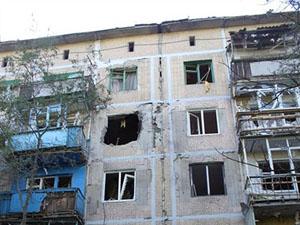 Горлівка під вогнем: руйнування і поранені (фото)