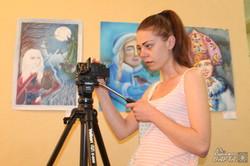 В «Мистецтві Слобожанщини» пройшла зустріч зі співорганізаторкою Дельфійських ігор Слобожанщини