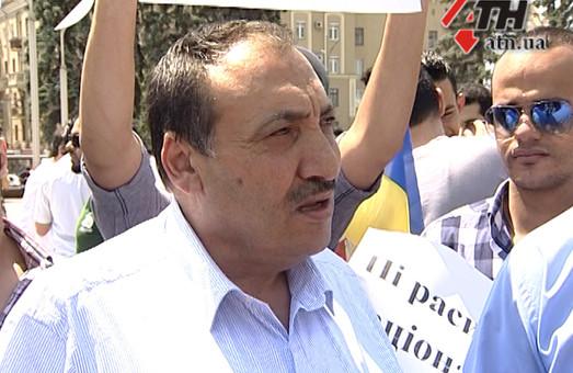 У Харкові мітингували іноземні студенти
