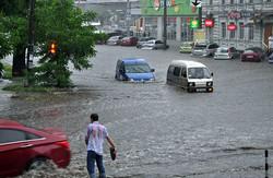 У Дніпропетровську розбушувалася стихія