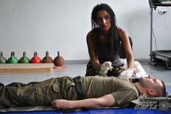 Для харківських нацгвардійців провели заняття з тактичної медицини (фото)