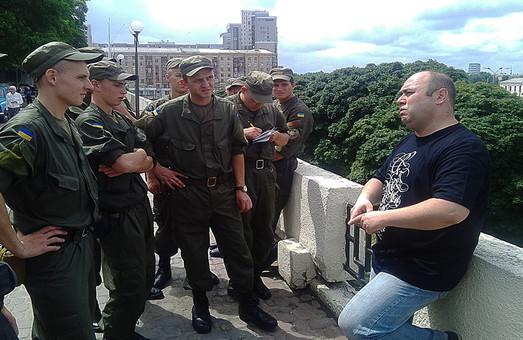 Строковики Національної гвардії України продовжують знайомство з Харковом (фото)