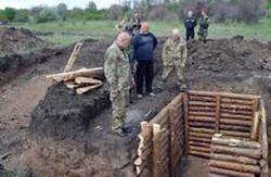 У Дніпропетровській області завершені роботи із зведення лінії оборони