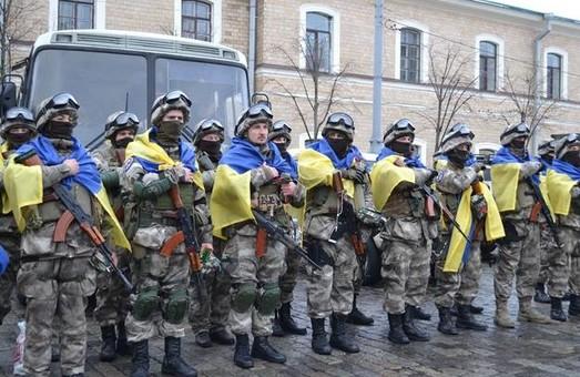 Вояки «Східного корпусу» вирушать в зону АТО з майдану Свободи