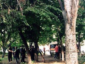 П'яні бойовики «ЛНР» підірвали гранату у дворі житлового будинку