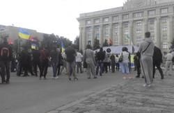 """Мітинг в підтримку """"Правого сектору"""""""