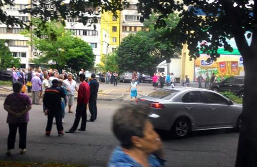 жителі дніпропетровська вийшли на акцію протесту
