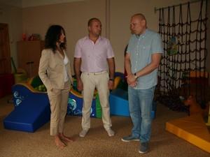 силами «Благодійного фонду Олександра Паламарчука» проводиться ремонт у харківському обласному будинку дитини