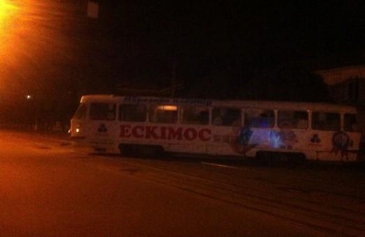 дрифт трамвая на вулиці жовтневої революції