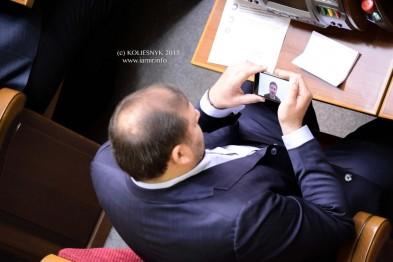 добкін виходить у твітер під час сесії Верховної Ради