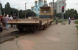 дрифт трамвая на героїв праці