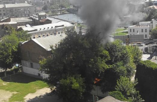 пожежа на громадянській