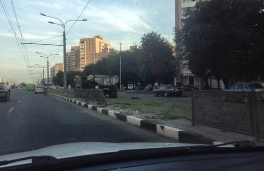 дорожній інцидент на проспекті Гагаріна