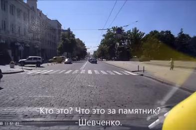 """відео з реєстратора автобуса, який віз """"добкінських тітушек"""""""