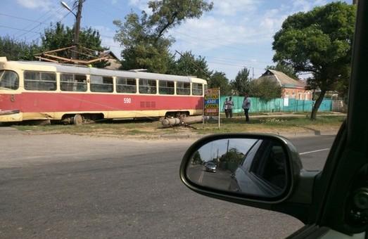 трамвайний дрифт на салтівці трапився вихідними