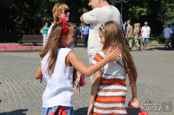 Представники УАПЦ провели молебень в парку Шевченка