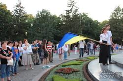 На святковому мітингу харків'яни вшанували загиблих (фото)