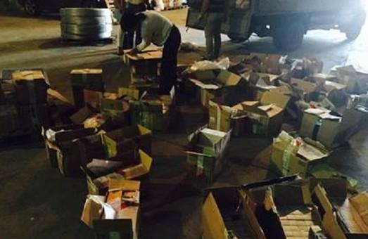 На Харківщині затримали контрабандний товар, його сума – більше 3 млн гривень (фото)