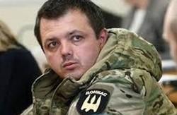 """Екс-комбат Семенченко вступив в партію """"Самопоміч"""""""