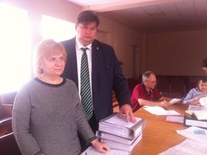 Балута надав документи на реєстрацію кандидатом у мери Харкова (фото)