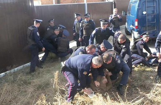 напали на журналістів правоохоронці у Богодухові