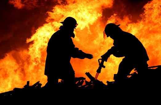 пожежа на богодухівщині