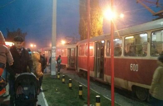 черговий дрифт трамвая на салтівці