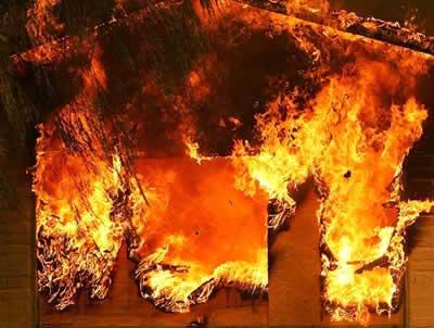 пожежа на куп'янщині