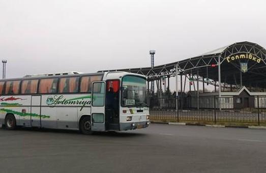 автобус з нелегалами через територію Росії до Києва