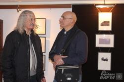 В галереї VOVATANYA стартувала виставка графіки Віталія Куликова