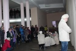 Студенти влаштували перформанс за Миколою Кулішем